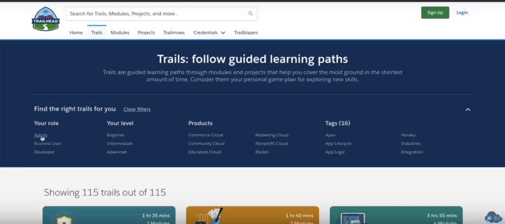 salesforce-trailhead-admin